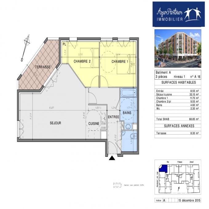 Programme neuf Appartement Vallauris (06220)