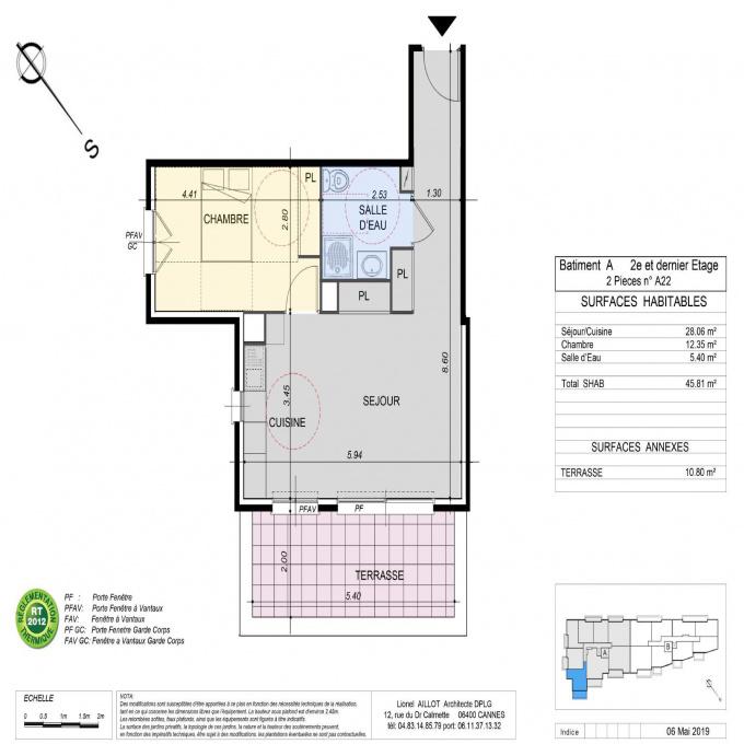 Programme neuf Appartement La Roquette-sur-Siagne (06550)
